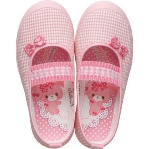 かわいい 上履き ボンボンリボン S01|sunrise-shoes