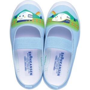 キッズ 上履き サンリオ シンカンセン S01|sunrise-shoes