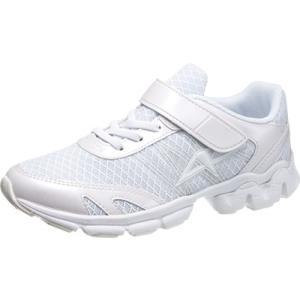 ジュニア 破れにくい白いスニーカー 通学履きにおすすめ アサヒ J002|sunrise-shoes