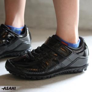 男女兼用 丈夫な白いスニーカー 通学履きにおすすめ アサヒ J004 |sunrise-shoes