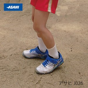 ジュニア スニーカー 破れにくい 丈夫な靴 ガチ強 アサヒ J026|sunrise-shoes