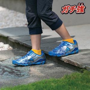 ジュニア スニーカー 破れにくい 丈夫な靴 ガチ強 アサヒ J031 ブルー|sunrise-shoes