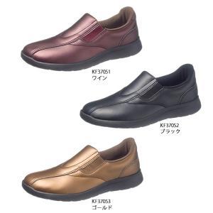 レディース スニーカー 幅広4E サイドゴアスリッポン アサヒ L506|sunrise-shoes