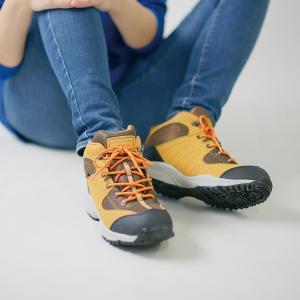 レディス スニーカー 防水 ハイカット 反射材付き ウィンブルドン L049WS |sunrise-shoes