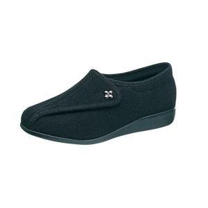 レディース スニーカー 軽い 快歩主義  L011 ブラックパイル sunrise-shoes