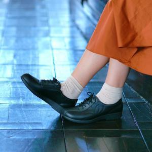 レディス スニーカー 内ファスナー付き 快歩主義  L135|sunrise-shoes