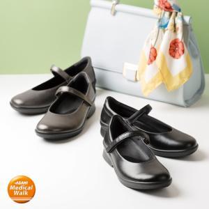 パンプス レディース 3E アサヒメディカルウォークCC L013|sunrise-shoes
