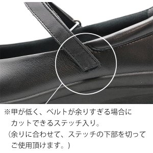 レディス パンプスタイプ ベルトタイプ アサヒメディカルウォークCC L013 sunrise-shoes 05