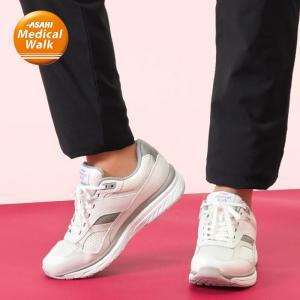 メンズ トレーニング 3E メッシュ アサヒメディカルウォーク TR M020 ホワイト|sunrise-shoes
