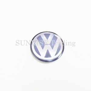 VW ホイール センターキャップ サテンブラック/ハイクローム 純正