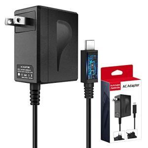6amLifestyle Nintendo Switch用充電器(USB Type-C ACアダプタ...
