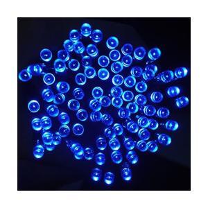 CVLIFE クリスマスイルミ&ソーラー充電式LEDイルミネーション&太陽発電(22m 200球)(ブルー)自動的にON/OFF|sunsetcandle