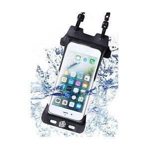 iphone 防水ケース アイフォン 8 7 6 6s SE X ストラップ IPX8認定 指紋認証対応 完全防水 スマホポーチ 海 プール トレッ|sunsetcandle