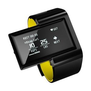 Atlas Wearables社製フィットネストラッカー Atlas Wearables Wristband イエロー [並行輸入品]|sunsetcandle