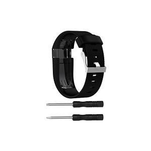Xberstar Fitbit Charge HR バンド ベルト 交換バンド シリコン製 工具付 ...