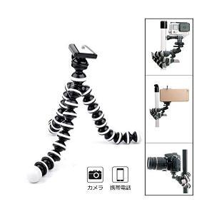 ミニ三脚 ゴリラポッド 小型一眼レフカメラ向け フレキシブル三脚 最大積載重量345g ブラック|sunsetcandle