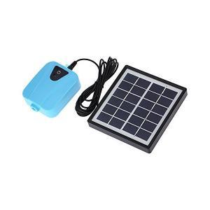 Decdeal DC充電 酸素ポンプ 池の通気装置 ソーラー充電可能 1つのエアストーン水族館エアポンプ付き|sunsetcandle