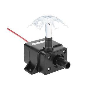 LEDGLE 水中ポンプ DC 12V 小型ポンプ 池ポンプ 揚程 3M 水耕栽培 噴水 給水 排水ポンプ 水槽 水族館 IP68 防水 循環ポンプ|sunsetcandle
