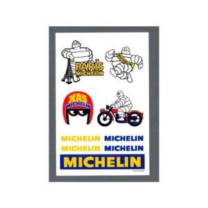 東洋マーク MICHELIN(ミシュラン) ミシュランマン・ロゴ ステッカー 130×85(mm) ...