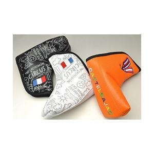 (カステルバジャック) CASTELBAJAC ピンパターヘッドカバー メンズ スポーツ ゴルフ 23601-311 (ブラック(99)) sunsetcandle