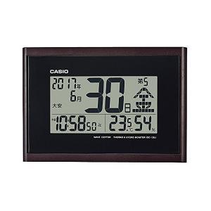 カシオ 温度・湿度計付き電波クロックIDC-1...の関連商品6