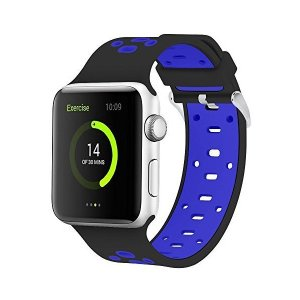 Apple Watchバンド iWatchバンド交換用ソフトシリコーンリストバンド / Apple Watch Series 3/ 2/ 1 S|sunsetcandle