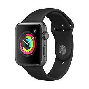 【国内正規品】Apple Watch Series 3 スペースグレイアルミニウムケースとブラックスポーツバンド アップルウォッチ シリーズ3 (G|sunsetcandle