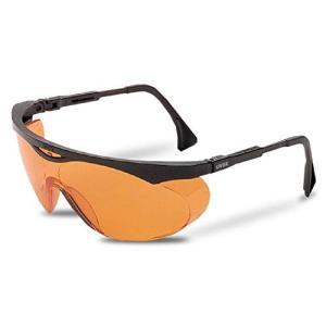 Uvex S1933X Skyper Safety Eyewear, Black Frame, Sct-Orange Uv Extreme Anti sunsetcandle