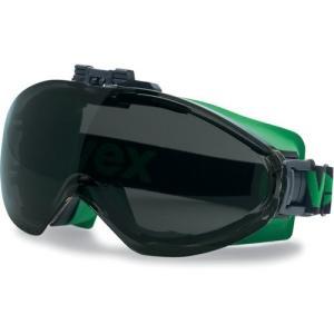 UVEX 遮光ゴーグル ウルトラソニック フリップアップ (遮光度#5) 9302045 sunsetcandle