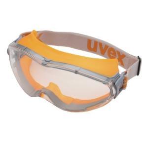 ウベックス ゴーグル X-9302 合成ゴムバンド オレンジ (ハードコート、防曇加工) sunsetcandle