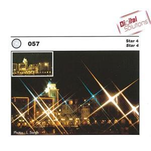 Cokin レンズフィルター A057 スター 4 70mm クロス効果用 445794 sunsetcandle
