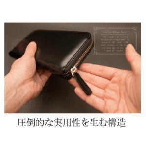 コードバン 長財布 財布 メンズ 本革 馬革 ラウンドファスナー 2020 子 鼠 ねずみ 令和2年|sunsmile2014|05