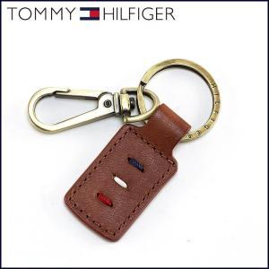 TOMMY HILFIGER トミーヒルフィガー キーホルダー 革 ブラウン 2020 子 鼠 ねずみ 令和2年|sunsmile2014