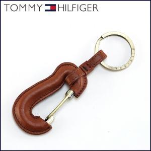TOMMY HILFIGER トミーヒルフィガー キーホルダー カラビナ 革 ブラウン 2020 子 鼠 ねずみ 令和2年|sunsmile2014