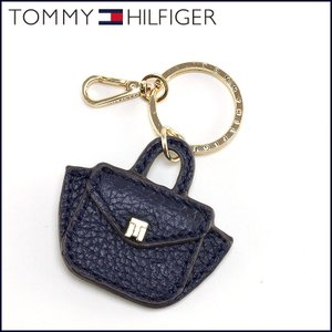 TOMMY HILFIGER トミーヒルフィガー キーホルダー 革 ネイビー 2020 子 鼠 ねずみ 令和2年|sunsmile2014