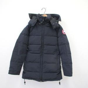 カナダグース ダウン ジャケット コート 防寒 アウター レディース サイズM/M ネイビー 【冬】...