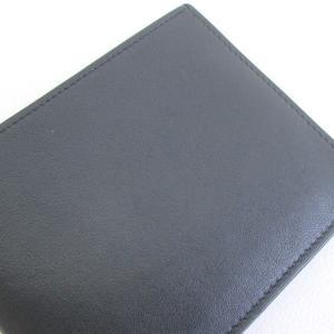 HERMES レザー 二つ折り 財布 カードケース マネークリップ メンズ  ブラック  エルメス 財布 F2-IF4857■ sunstep 06