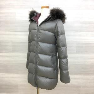 デュベティカ KAPPA D.037.00.MFG-1057R ダウン ジャケット コート 羽織 防寒 ロング レディース サイズ40 グレー系 冬 DUVETICA アウター IL8128-H■|sunstep