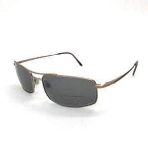 ブルガリ サングラス 531-T スクエア アイウェア メンズ 57□17 135 ブラウン  BVLGARI 眼鏡 DF9432■ sunstep