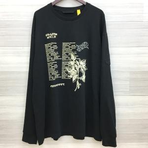モンクレール ジーニアス 2 1952 コレクション ロゴ ロング スリーブ Tシャツ ロンT プリント XXL MONCLER GENIUS カットソー DM0939■|sunstep