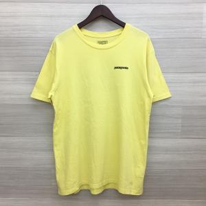 パタゴニア P-6 Logo Organic T-Shirt Tシャツ カットソー バックロゴ ネコポス可 Mサイズ イエロー Patagonia トップス DM1536■ sunstep