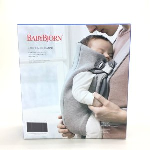 ベビービョルン ベビーキャリア ミニ MINI 未使用 抱っこひも ベビースリング 出産祝い 出産準備 BABY BJORN ベビー用品 F13-IF1224■|sunstep
