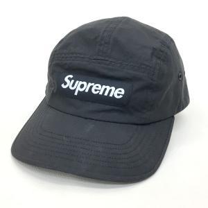 シュプリーム Barbour WAXED COTTON CAMP CAP boxロゴキャップ バブアー 20SS ブラック SUPREME 帽子 DF1179■|sunstep