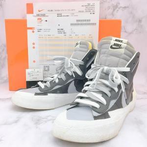 ナイキ サカイ BLAZER MID bv0072-002 ブレザー ミッド スニーカー シューズ メンズ 27.5cm NIKE sacai 靴 DF1150■|sunstep