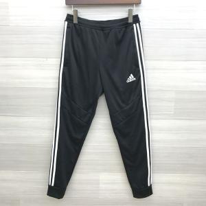 adidas トラックパンツ ジャージ ロングパンツ ラインパンツ スポーツウェア メンズ Mサイズ ブラック アディダス ボトム DM1442■|sunstep