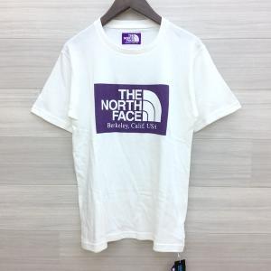 ノースフェイス パープルレーベル H/S LOGO TEE Tシャツ 未使用 NT3850N 速乾 ネコポス可 Sサイズ ホワイト THE NORTH FACE カットソー DM1708■|sunstep