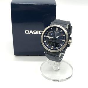 カシオ プロトレック 腕時計 ウォッチ タフソーラー クライマーライン PRW-60 箱付き メンズ...
