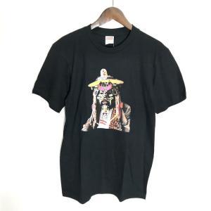 シュプリーム 美品 半袖 Tシャツ プリントTEE 20SS Rammellzee Tee メンズ Sサイズ ブラック Supreme トップス A3365◆|sunstep
