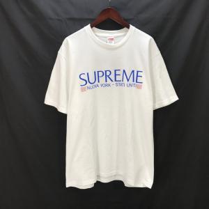 シュプリーム NUOBLA TEE 20FW 半袖 ロゴTEE Tシャツ メンズ Lサイズ ホワイト Supreme トップス A4389◆|sunstep