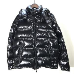 モンクレール MAYA GIUBBOTTO 020914036650 ダウンジャケット ブルゾン 防寒 サイズ1 Sサイズ相当 ブラック MONCLER アウター A5348◆◆|sunstep